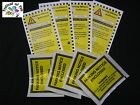 Joke Car Parking Ticket~Tickets with Self Adhesive Wallets~Fake~Prank~PCN~BEST!!