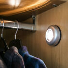 PUSH DOWN BUTTON TORCH LIGHT FOR WARDROBES DARK HOME SPACES, 10 WARM WHITE LEDS