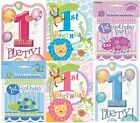 1st Birthday 8 Invitations & Envelopes (First/Boy/Girl/Party/Invites) (Unique)
