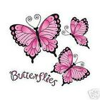 Pink Butterflies   Tshirt    Sizes/Colors