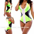 One Piece Woman Push-up Bikini Swimsuit Monokini Swimwear Bathing Suit Beachwear