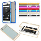 Aluminum Metal Push-Pull Frame Bumper Case Cover For Sony Xperia Z3 Z5 Compact