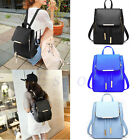 Women Faux Leather Satchel Shoulder Backpack School Rucksack Bags Travel Fashion