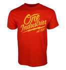 ONE INDUSTRIES ROLLING THUNDER MEN RED T SHIRT image