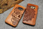 Natural Rosewood Carving Case For Samsung Galaxy Note 5 S6 Sony Xperia Z5 LG G3