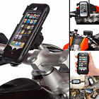 Motorcycle M6 M8 M10 Clamp Bolt Mount + Tough Case for Apple iPhone 5 5s 5c SE