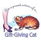 Gift Giving   Cat  Tshirt  Sizes/Colors