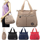 Women Casual Tote Handbags Water Resistant Nylon Large Cross Body Shoulder Bags