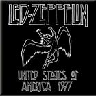 OFFICIAL LICENSED LED ZEPPELIN USA 1977 Fridge Magnet NEW Robert Plant ZOSO