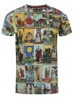 Monkey Business Tarot Deck Multicoloured Men's T-shirt