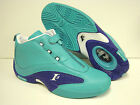NEW Mens Sz REEBOK Answer IV Mid Teal Blue SAMPLE AI IVERSON Sneakers Shoes Rare