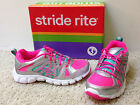 NEW GIRLS US sz 2 or 3 M PROPEL Lace Up Pink w/ Silver & Aqua ATHLETIC SHOES F/S
