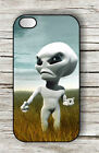 ALIEN LOST AND ANGRY FACE CASE FOR iPHONE 4 5 5C 6 -hjb6Z
