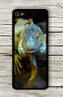 IGUANA COLORFUL REPTILE HEAD CLOSE UP CASE FOR iPHONE 4 5 5C 6 -kdc6Z