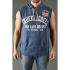 Roots of Fight Chuck Liddell Sleeveless Hoodie - Vintage Navy