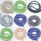 Multicolor 10x15mm crystal glass teardrop faceted beads diy jewelry 30pcs B1178