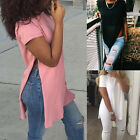 Fashion Women Summer Loose Top Short Sleeve Blouse Ladies Casual Tops T-Shirt UY