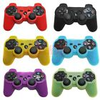 Silicone Skin Rubber Grip Protective Case Cover for Playstation 3 PS3 Controller