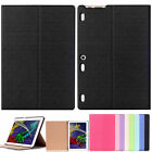 Two-Fold Leather Case Cover for Lenovo Tab3 10 Business (TB3-X70F/N/L) Tablet PC