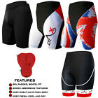 Mens Cycling Shorts Padded Street Racing ANTI-BAC PAD Bicycle Lycra Shorts