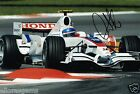 "Forumla 1 Test Driver Anothony Davidson Hand Signed Photo 12x8"" F1 AE"