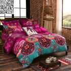 Mandala Oriental Double Queen King Size Bed Quilt Duvet Cover Set Pillowcases