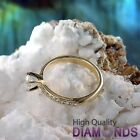 Round Diamond Engagement Ring Size 6 14k Yellow Gold 0.91 TCW VS-SI F-G Enhanced