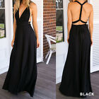 V-neck Multi-rope Bandage Long Dress Bridesmaid Full Formal Dress JYL