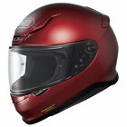 Shoei RF-1200 Solid Helmet Wine Red