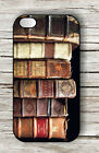 OLD BOOKS COLLECTION CASE FOR iPHONE 4 5 5C 6 -jnm9Z