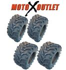 Bear Claw ATV Tires 25x8-12 25x10-12 Kenda All Terrain Set of 4 Front Rear 6 Ply