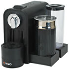 ViVo Coffee Machine and Milk Frother for Nespresso Capsules Pod Heats Up Milk