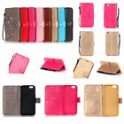 Strap Bling Embossing Flower Leather Wallet Card Flip Case Cover For Samsung YB