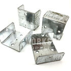 40mm 46mm 52mm GALVANISED FENCE & TRELLIS CLIPS / BRACKET PANEL FIXING DECKING