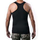 Men's Body Shaper Slimming Shirt Tummy Waist Vest Lose Weight Compression Shirt