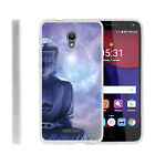For Alcatel POP 4+ Slim Fitted Flexible TPU Case Galaxies