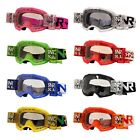 Rip N Roll Colossus XL Roll Off MX Enduro Motocross Off Road Goggles - REDUCED!