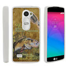 For LG Power | LG Destiny | LG Sunset Slim Fitted Flexible TPU Case Fishing Bass