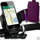 Bicycle Accessory Pack Bike Holder Cradle✔Pull Tab Pouch Case Cover✔Stylus Pen