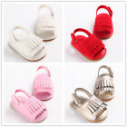 New Arrival Fashion Kid Sandal Toddler Rubber Sole PU Tassel Baby Shoes 0-18M
