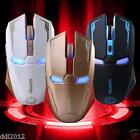 2.4GHz 2400DPI 6 Buttons USB Rechargeable Optical Wireless Gaming Mouse For PC