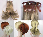 STRAIGHT HAIR FOXTAIL HAIRPIECE W/ BENDABLE WIRE EXTENSIONS HAIRDO PONYTAIL BUN