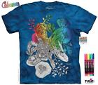LITTLE FISH COLORWEAR ADULT T-SHIRT THE MOUNTAIN