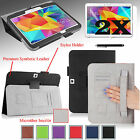 "PU Leather Case Cover Skin Stand for Samsung Galaxy Tab4 10.1"" inch T530  NEW"