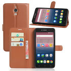 "For 6.0"" Alcatel One Touch Pixi 4 (6) 3G 8050D Case Flip PU Leather Wallet Bag"