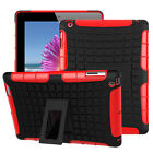 Hybrid Silicone With Shockproof Cover Case Hard Protective For iPad2/3/4/6 mini4