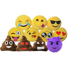 Emoticon Emoji Smiley Deko Kissen Dekokissen Sofakissen WhatsApp 30x30cm