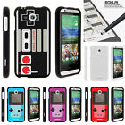 For HTC Desire 510 Case Hard Snap On 2 Piece Slim Shell Gaming Controllers