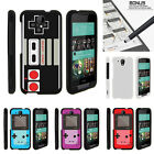 For HTC Desire 520 Case Hard Snap On 2 Piece Slim Shell Gaming Controllers