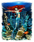 Atlantis Mermaid Siren Design T-Shirt, fs20014